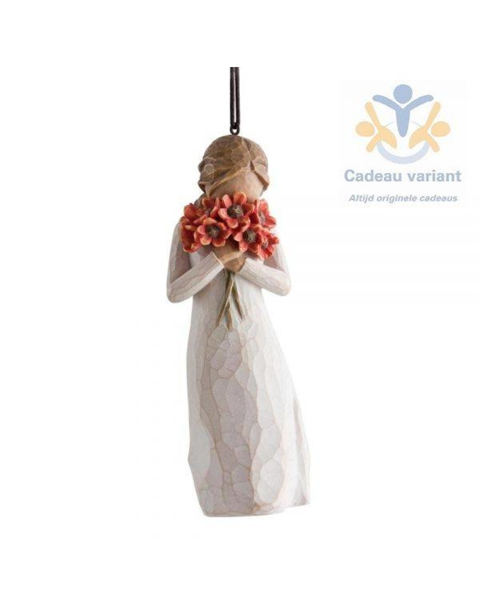 Willow Tree Ornament omringd door liefde -surrounded by love -