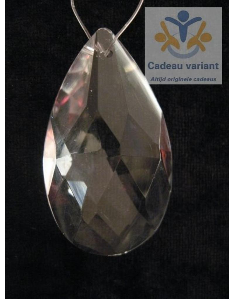 Raamkristal druppel 8 cm