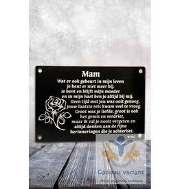 Gedenksteen Mam