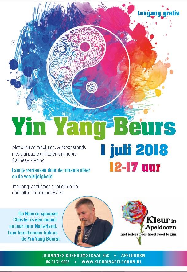 Yin Yang beurs Apeldoorn