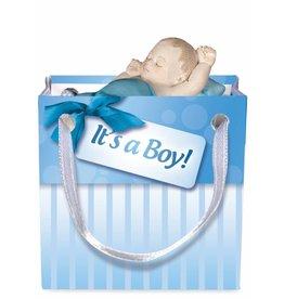Angelstar Baby cadeau in tasje blauw