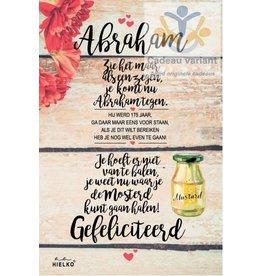 Abraham kaartcadeau