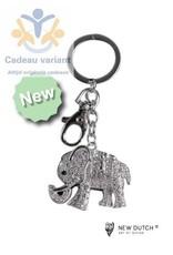 New Dutch Sleutelhanger olifant nieuw