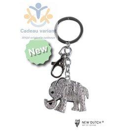 New Dutch Sleutelhanger olifant
