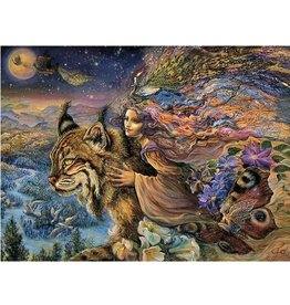 Josephine Wall Josephine Wall Flight of the lynx blanco