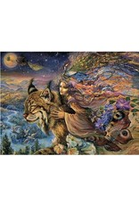 Josephine Wall Josephine Wall Flight of the lynx encouragement