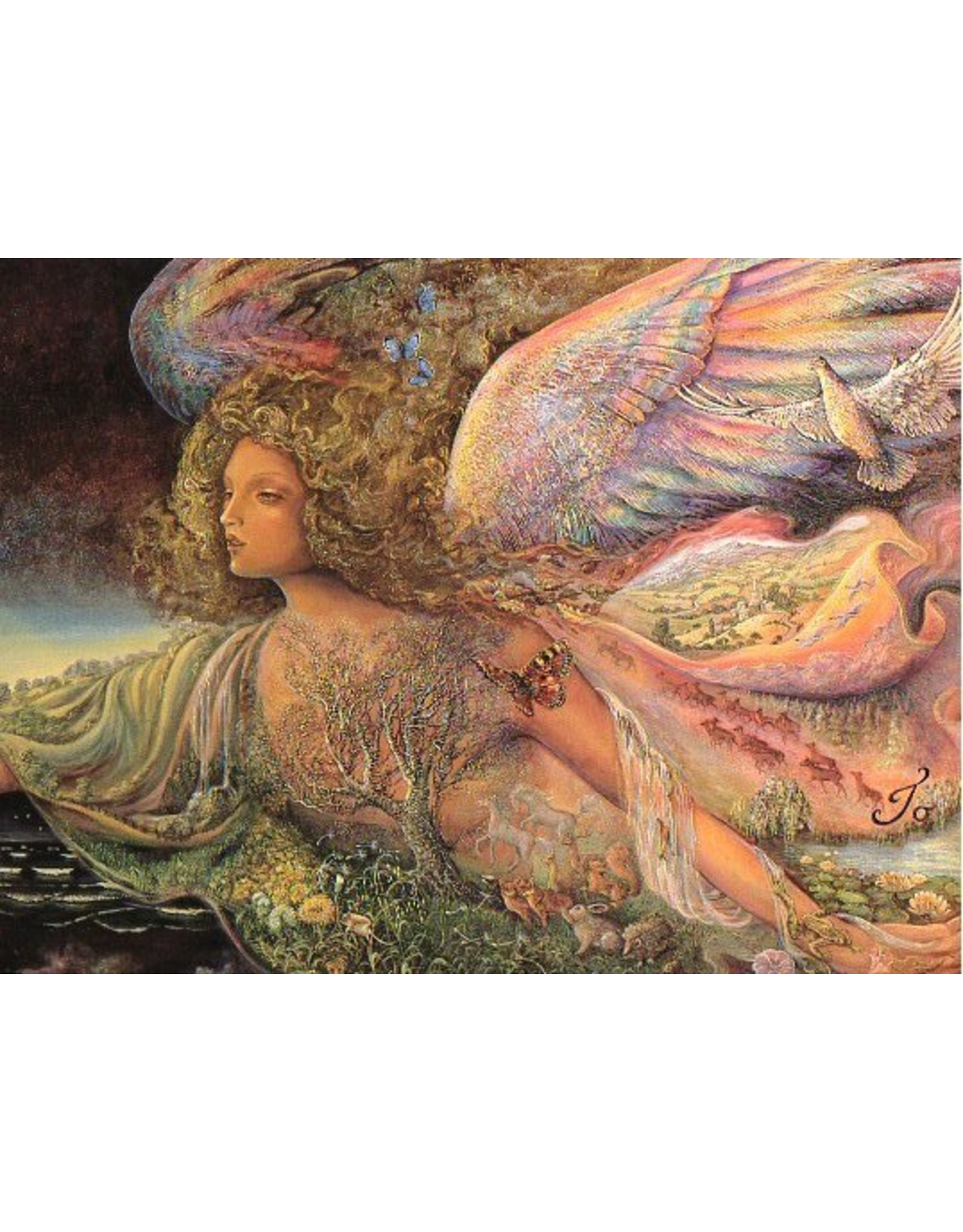 Josephine Wall Josephine Wall Natures guardian angel encouragement