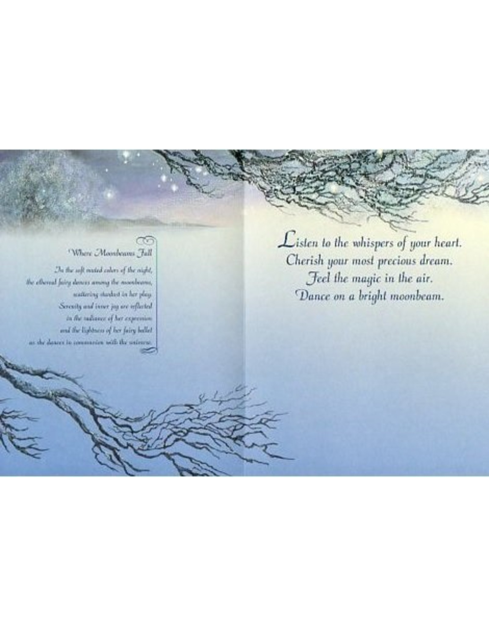 Josephine Wall Josephine Where moonbeams fall encouragement