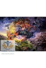 Josephine Wall Breath of Gaia  keramiek tegel 20 x 25 cm