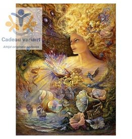 Josephine Wall Chrystal of enchantment keramiek tegel 20 x 25 cm