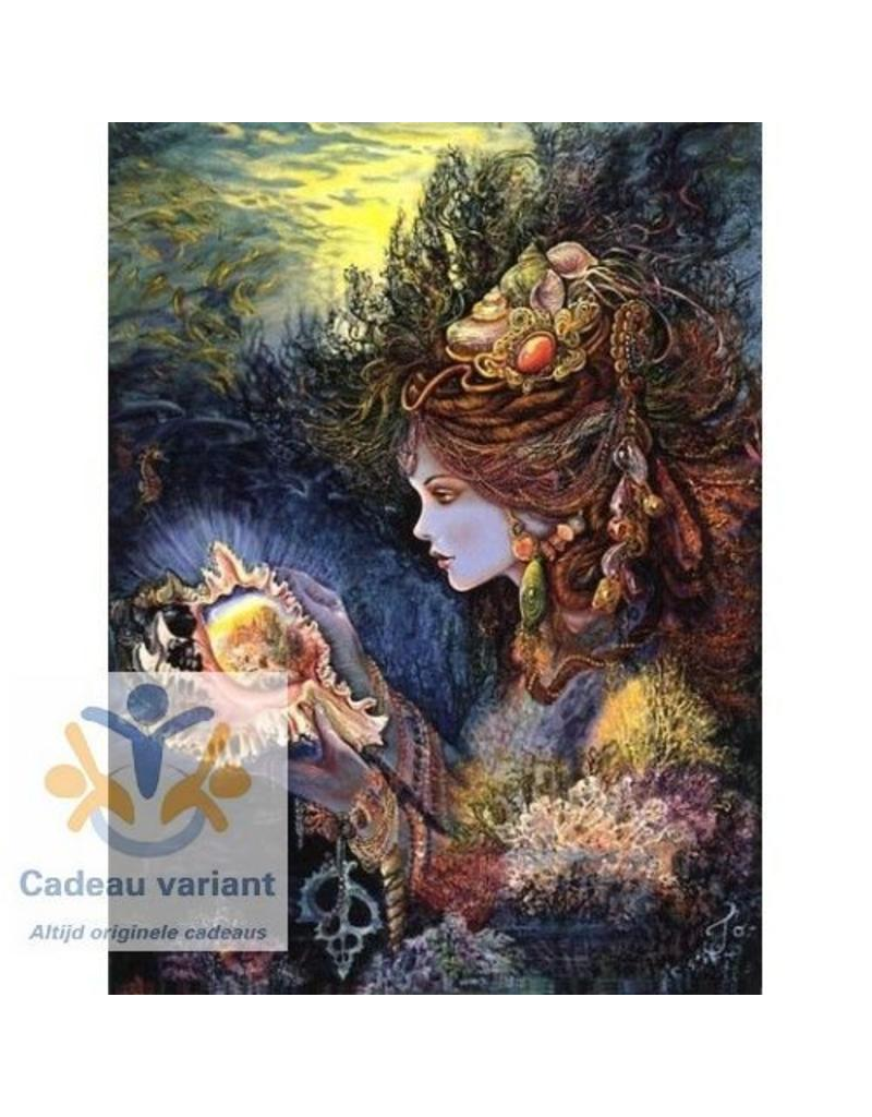 Josephine Wall Daughter of the deep keramiek tegel 20 x 25 cm