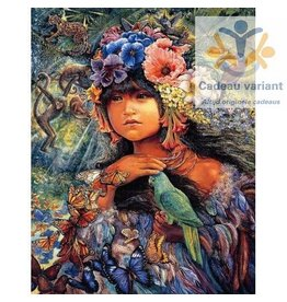 Josephine Wall Princess of the Amazon keramiek tegel 20 x 25 cm
