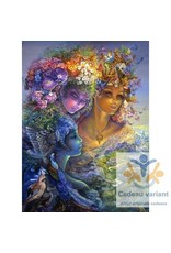 Josephine Wall Three graces tegel 20 x 25 cm