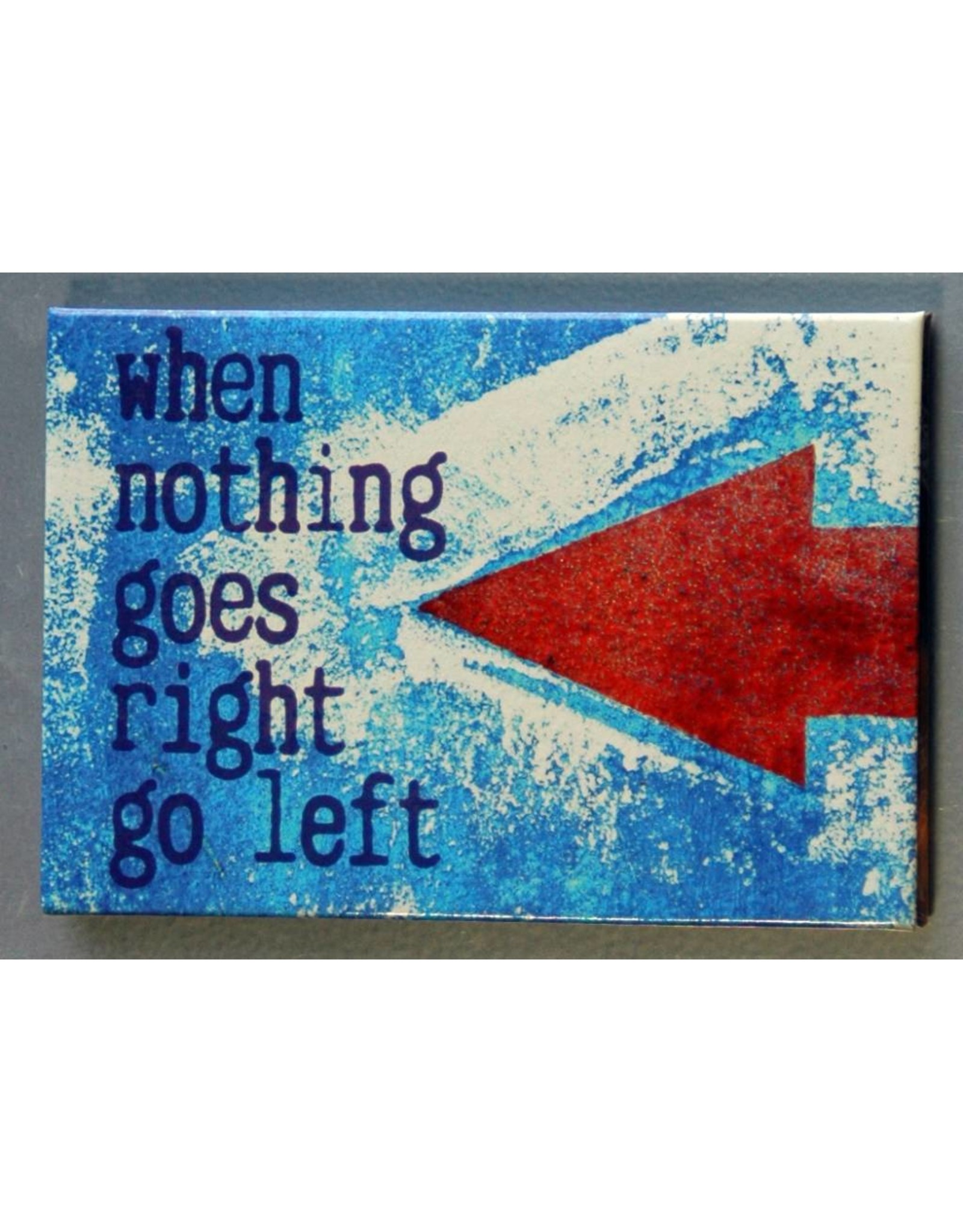 Zintenz Magneet when nothing goes right go left