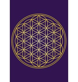 Zintenz Magneet flower of life