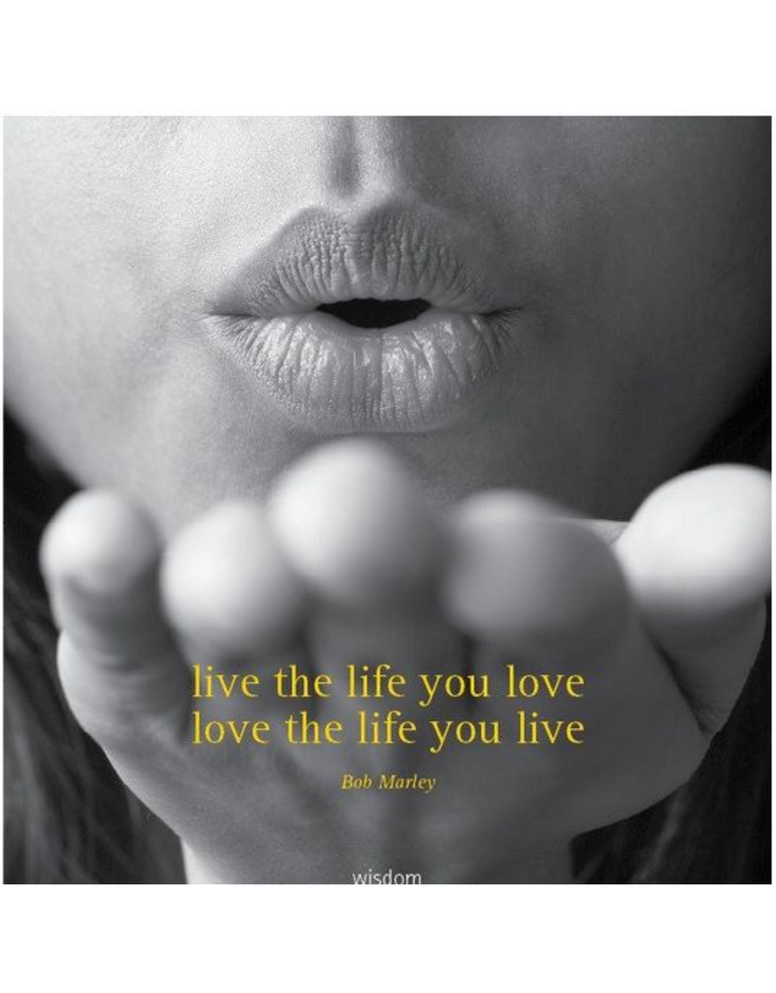 Zintenz Wenskaart live the life you love