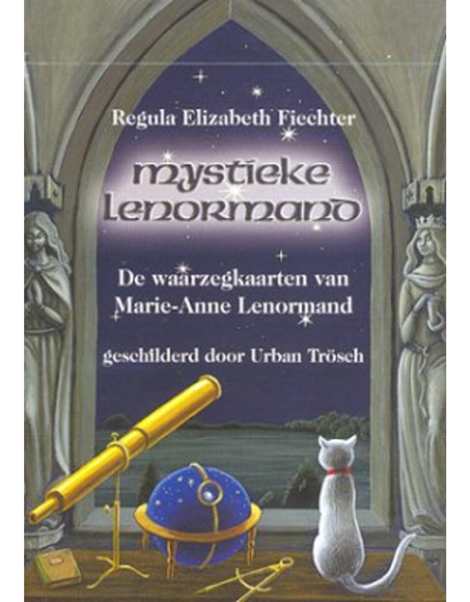 Mystieke madame Lenormand kaarten