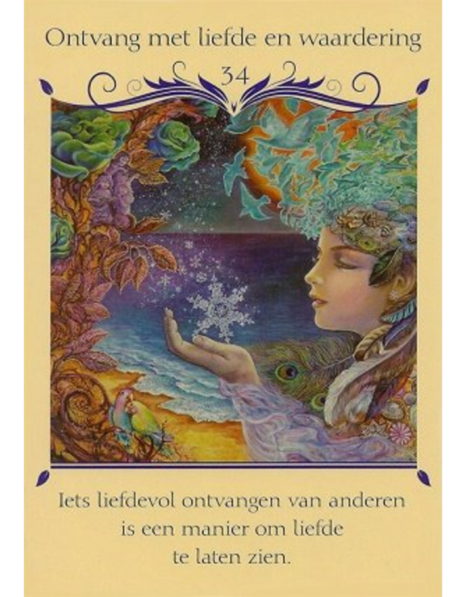 Josephine Wall Fluisteringen van de liefde orakelkaarten