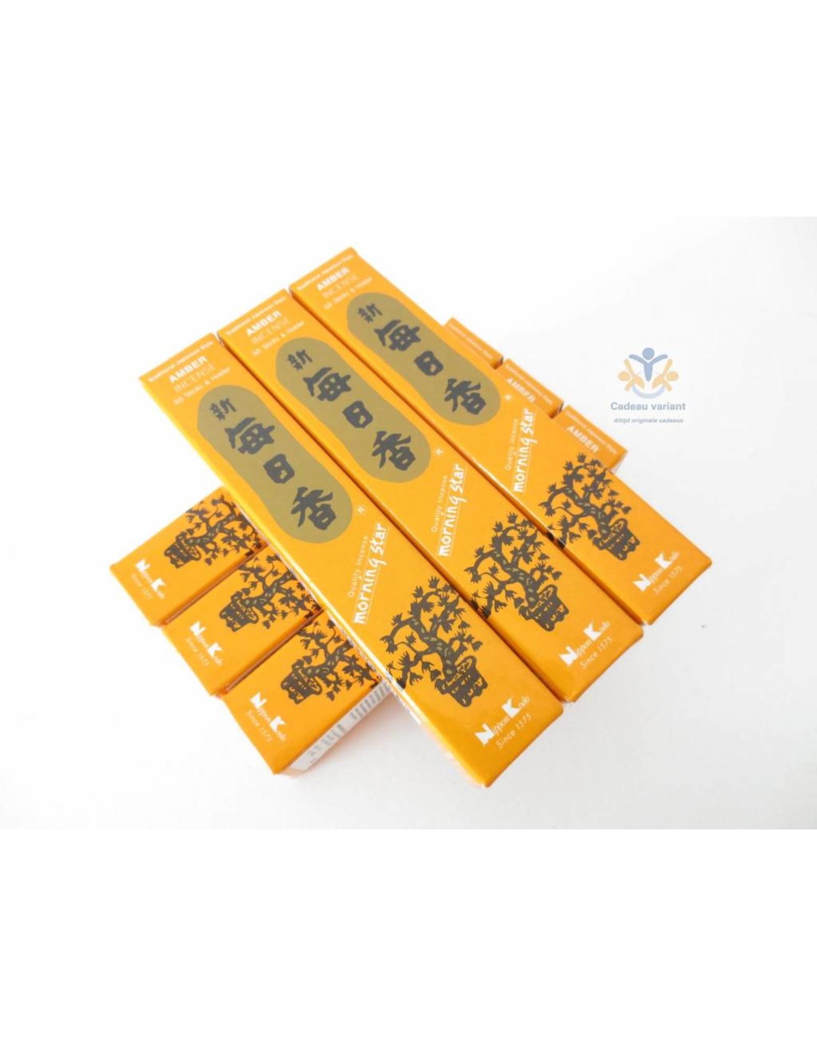 Nippon kodo Wierook amber morningstar
