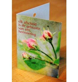 Zintenz Geschenkkaart Elk afscheid