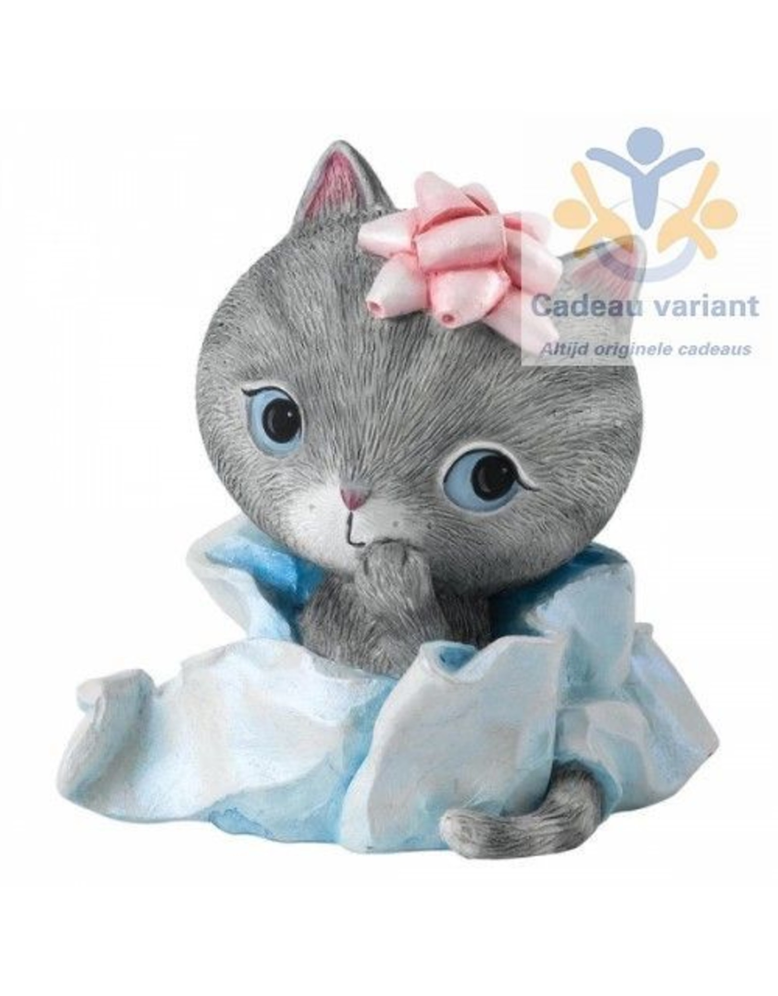 Little Meow wrapped up beeld