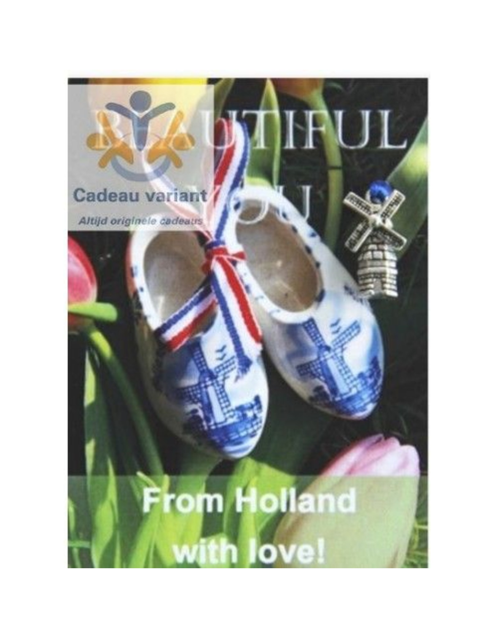 Mooi mens kaarten Beatiful You from Holland with love