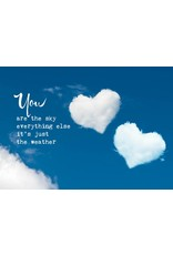 Zintenz You are the sky briefkaart