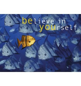 Zintenz Believe in yourself briefkaart