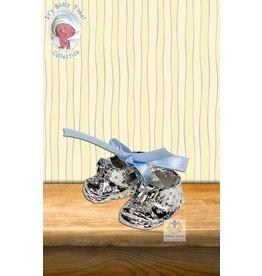 Babyschoen met blauwe strik