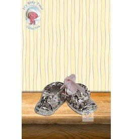 Baby schoen met roze strik