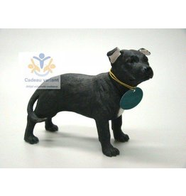 Leonardo collectie Stafford bull terrier zwart