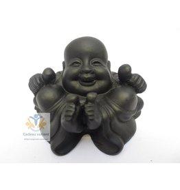 Boeddha succes met duimen omhoog