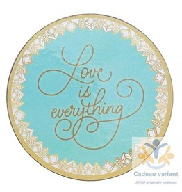 Love is everything onderzetters (4)
