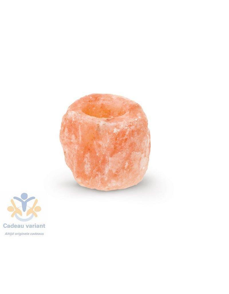 Himalaya waxinelichthouder oranje