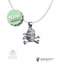 New Dutch Piraat ketting glitter 50 cm