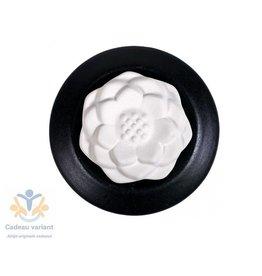 Aroma geursteen Lotus zwart