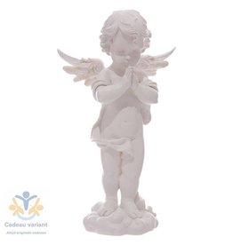 Engel staand en biddend 36 cm hoog
