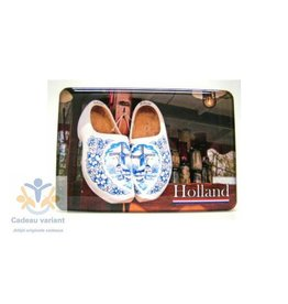 Souvenir Holland Klompen Holland magneet