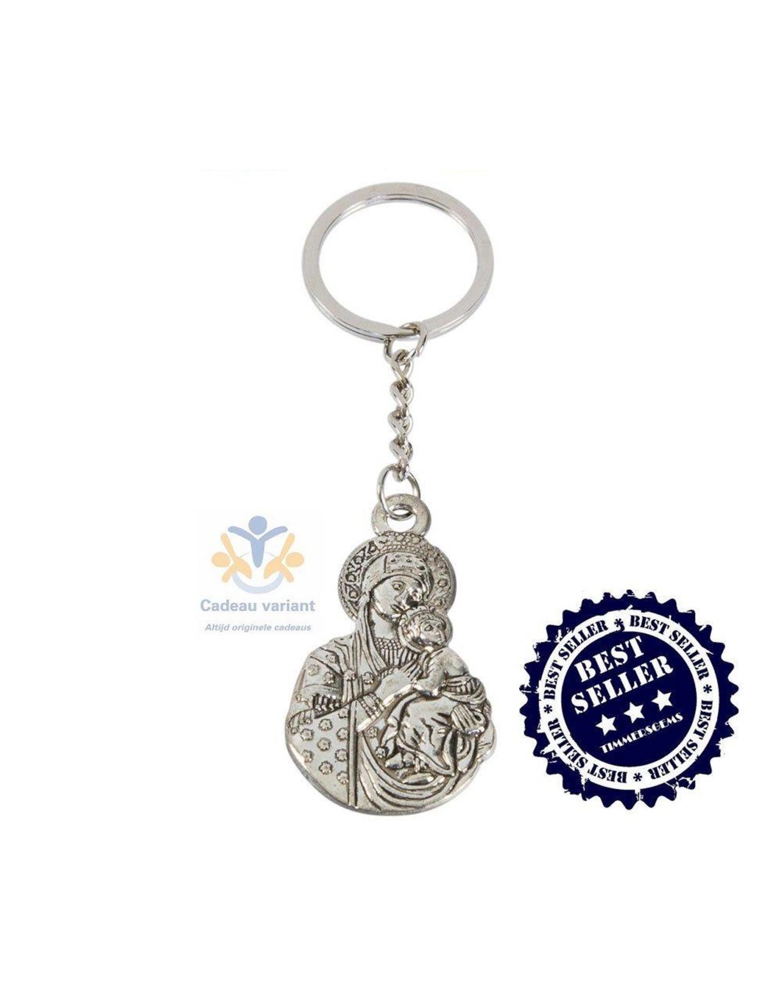 Moeder Maria sleutelhanger