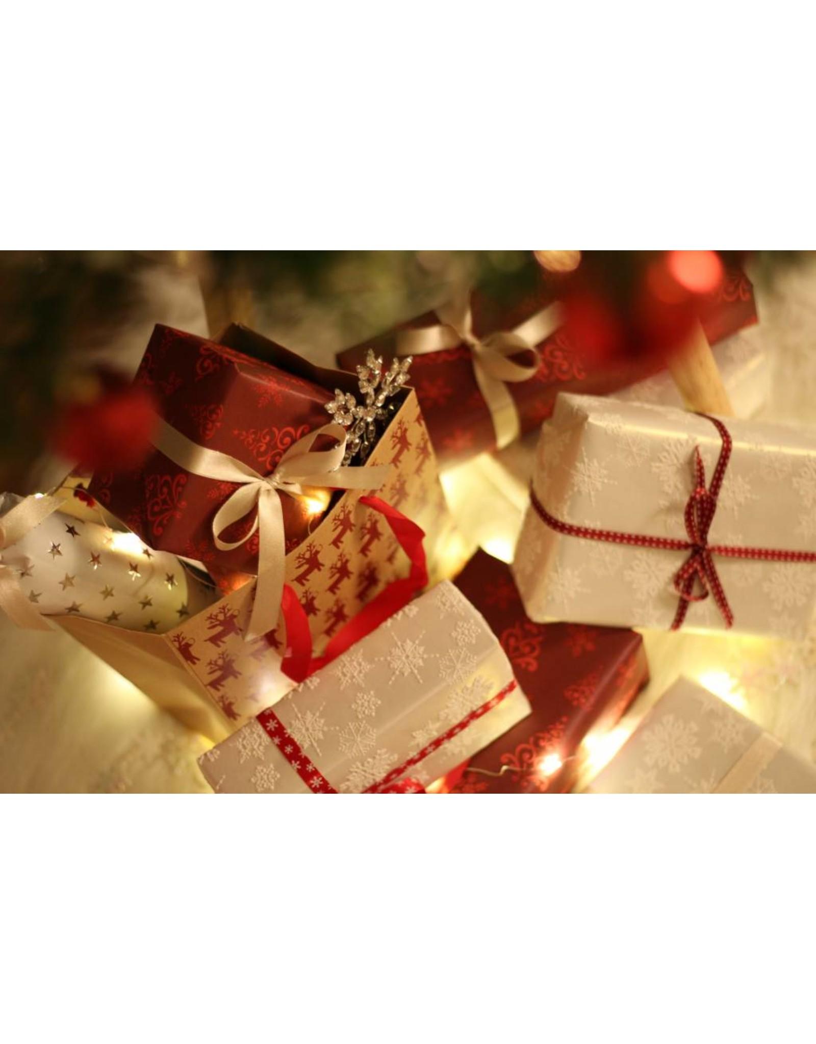 Geschenkverpakking  kerstmis