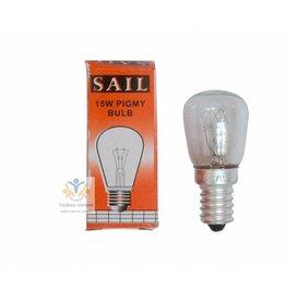 Reservelamp  15 watt Edelsteenlampen