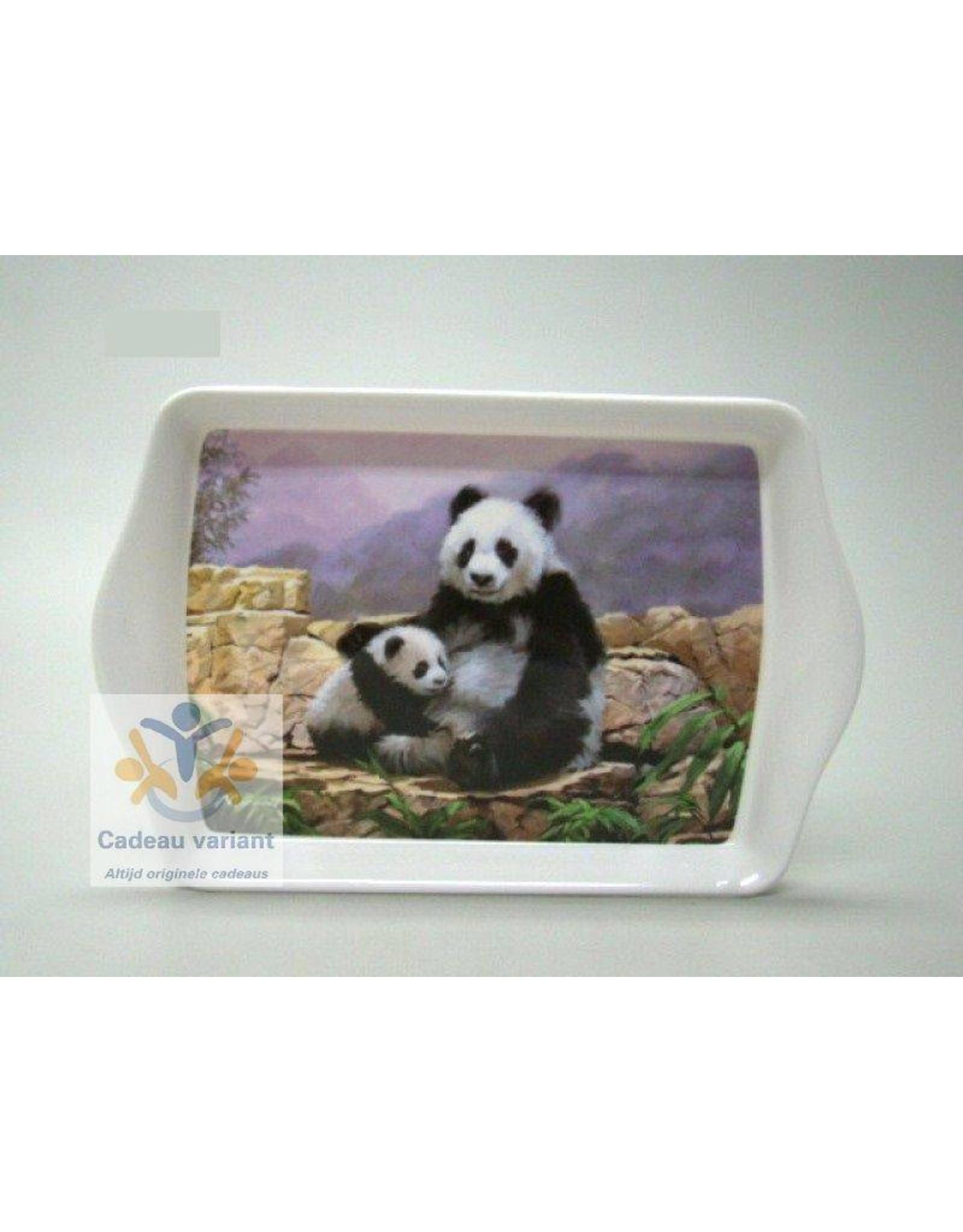 Panda dienblad klein