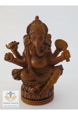 Ganesha bruin 10 cm
