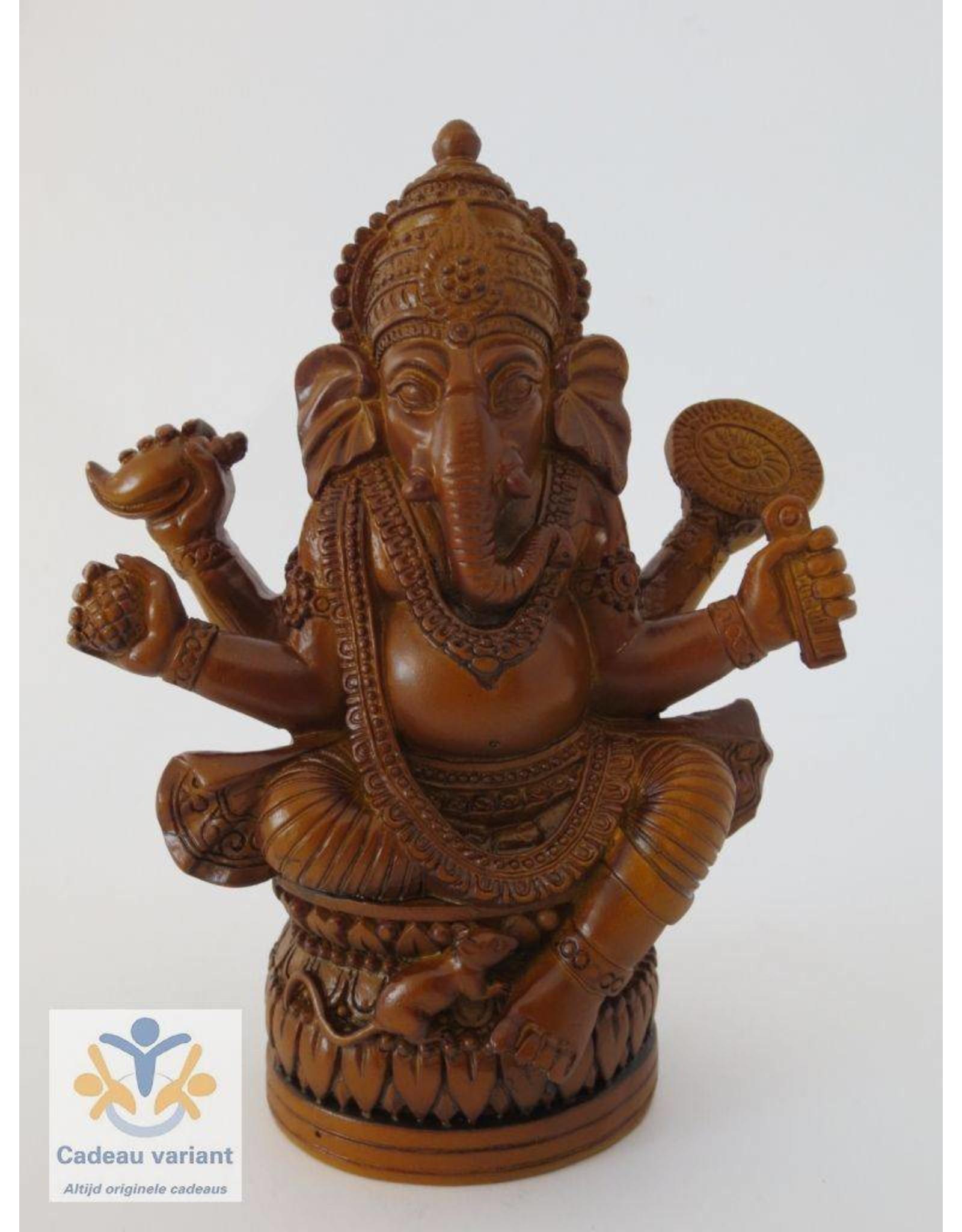 Ganesha bruin klein