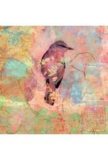 Zintenz Wenskaart vogel