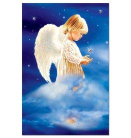 Tree free cards Wenskaart Angel christmas wishes