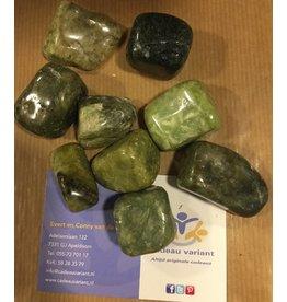 Jaspis groen edelsteen