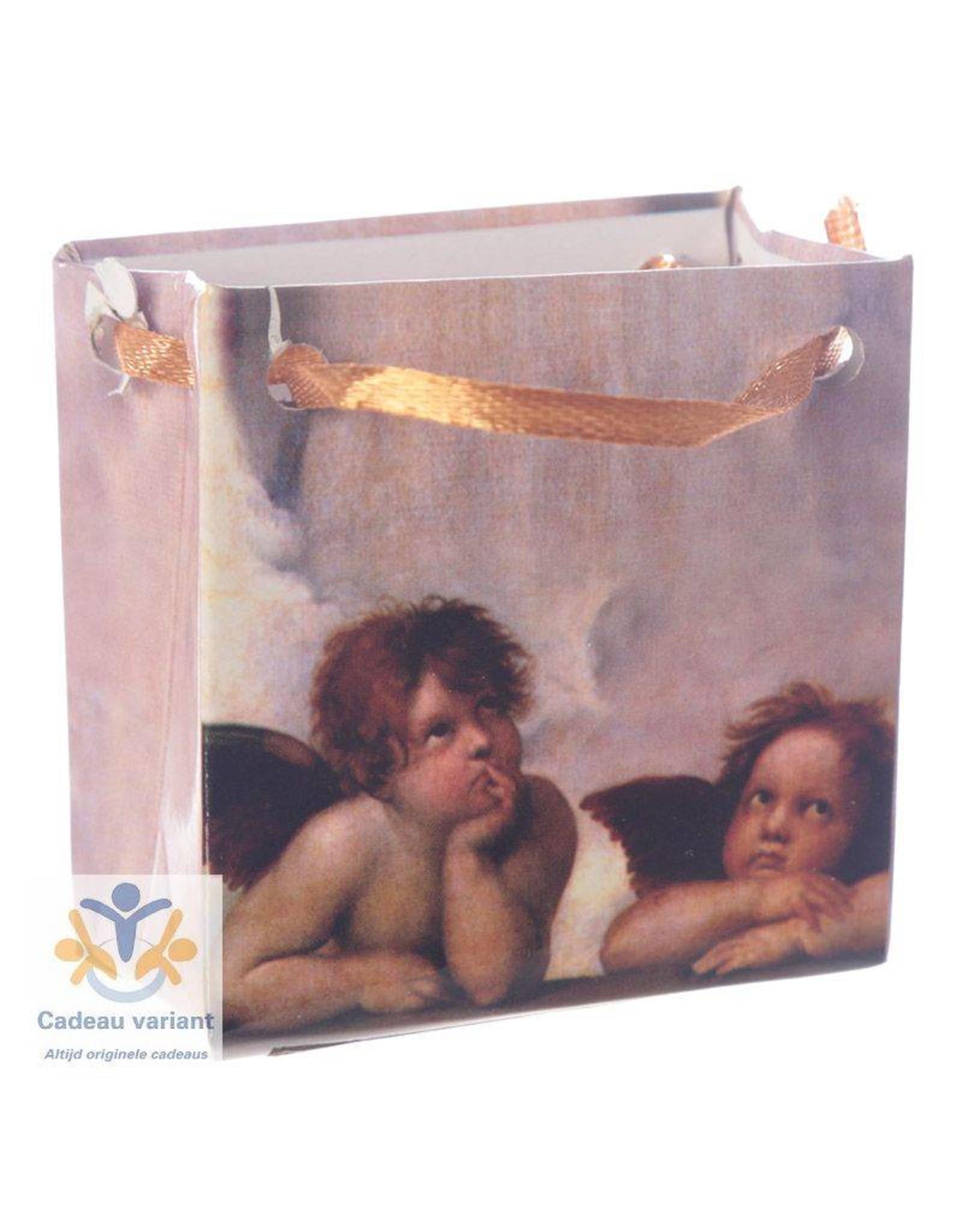 Engel klein in geschenktasje