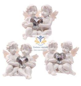Engelen verbonden door een hart