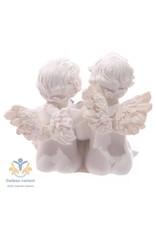 Engelen  beeld verbonden door een hart